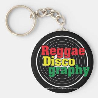 Reggae Discography Vinyl Key Chain
