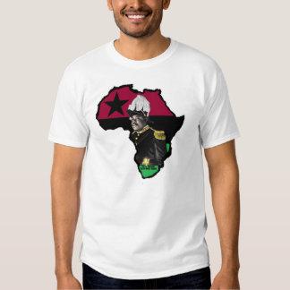 Reggae Etiopía Jamaica de Marco Garvey Rasta Remeras