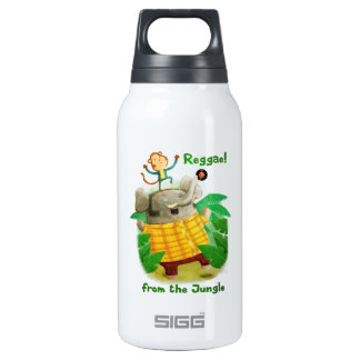 Reggae from The Jungle Insulated Water Bottle