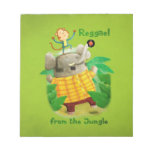 Reggae from The Jungle Memo Note Pads