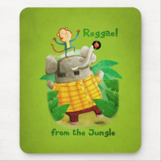 Reggae from The Jungle Mouse Pad