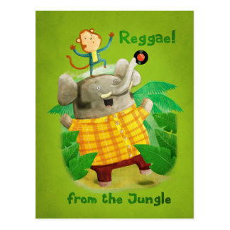 Reggae from The Jungle Postcard