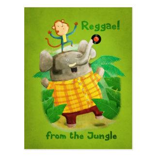 Reggae from The Jungle Postcard
