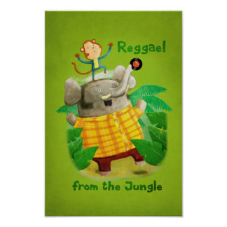Reggae from The Jungle Poster