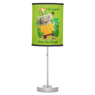 Reggae from The Jungle Table Lamp