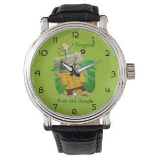 Reggae from The Jungle Wrist Watches