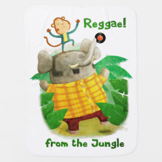 Reggae from The Jungle Receiving Blankets