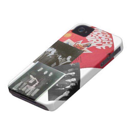 reggae girl Case-Mate iPhone 4 case