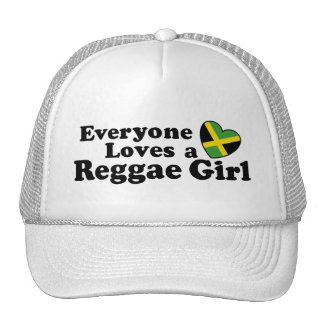 Reggae Girl Trucker Hat