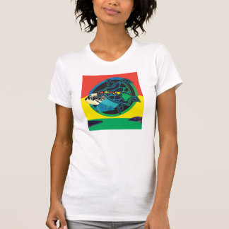Reggae Hanauma Bay Oahu Hawaii Map Shirt
