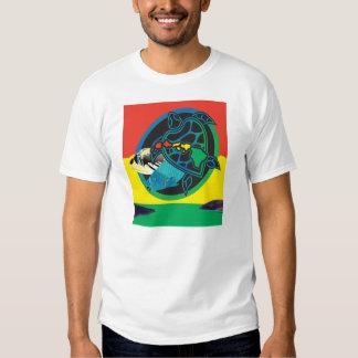 Reggae Hanauma Bay Oahu Hawaii Map T-shirt