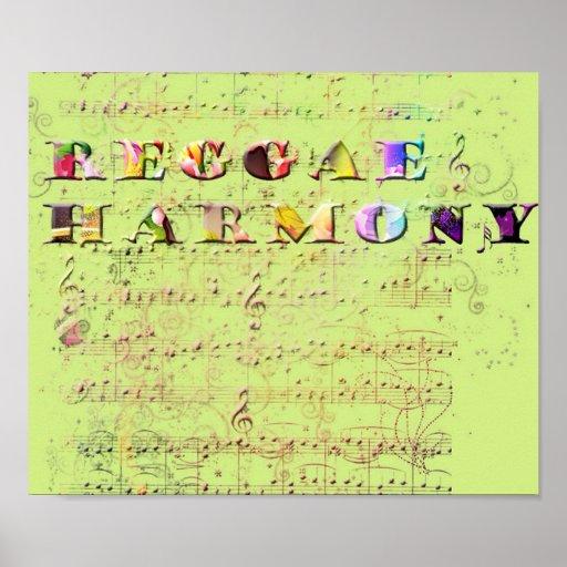 reggae harmony posters
