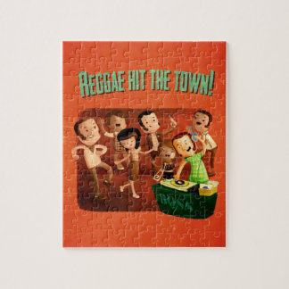 Reggae hit The Town! Jigsaw Puzzle