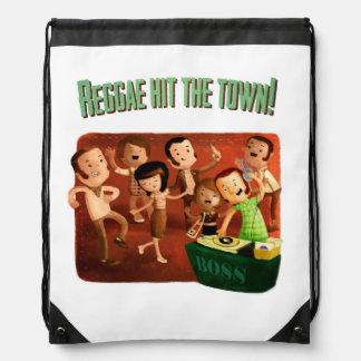 Reggae hit The Town! Drawstring Backpack