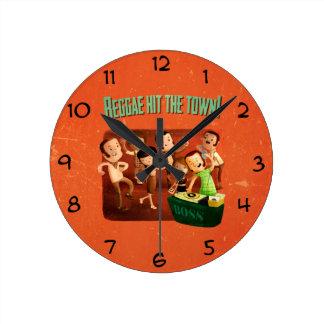 Reggae hit The Town! Round Clock