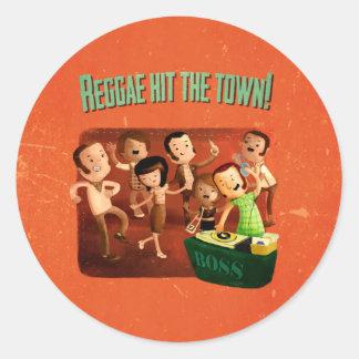 Reggae hit The Town Sticker