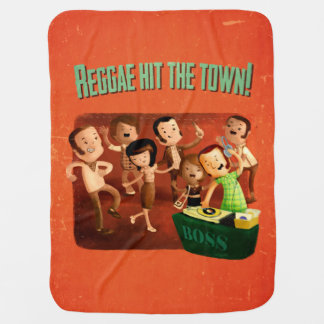 Reggae hit The Town! Swaddle Blankets