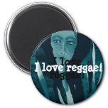 Reggae Imán Redondo 5 Cm