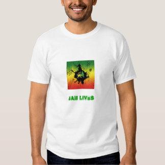 Reggae, Jah lives Shirts