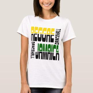 Reggae Jamaica Dance Hall Cube, 3 Colors T-Shirt