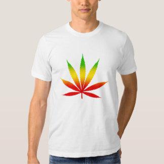 Reggae Jamaican Jamaica Rasta Leaf Mens T-Shirts