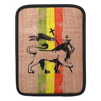 Reggae king lion iPad sleeve