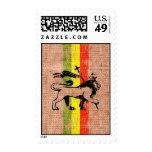 Reggae king lion stamps