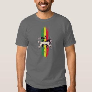 Reggae king lion t shirt