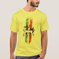 Reggae king lion T-Shirt