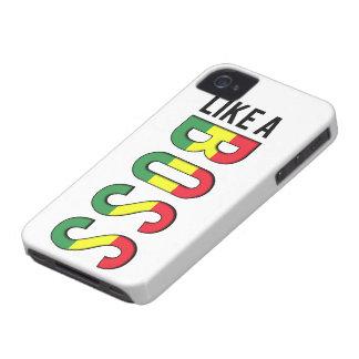 Reggae LIKE a BOSS Case-Mate iPhone 4 Cases