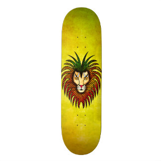 Reggae Lion Skateboard Deck