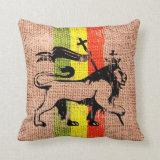 Reggae throw pillows