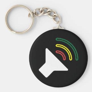 Reggae Listen Keychain