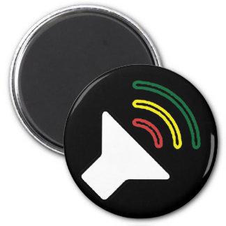 Reggae Listen Magnet
