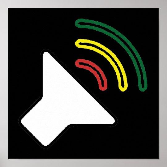 Reggae Listen Poster