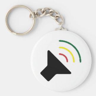 Reggae Loud Keychain