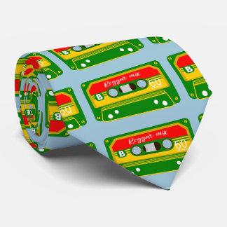 Reggae mix tape cassette eighties tie