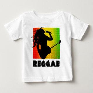 Reggae Music Rasta Rastaman Guitar Toddler T-shirt at Zazzle