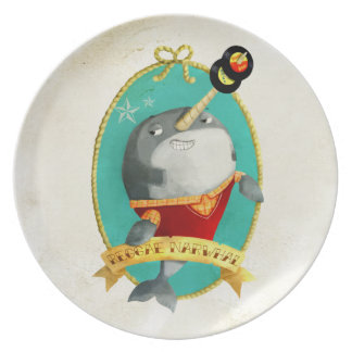 Reggae Narwhal Party Plates
