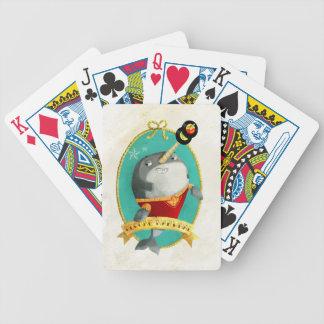 Reggae Narwhal Playing Cards