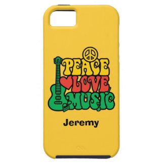 Reggae Peace Love Music iPhone SE/5/5s Case