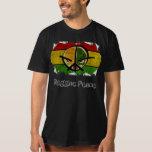 reggae peace tee shirt