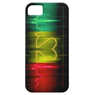 Reggae Pulse iPhone 5/5s Case