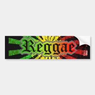 reggae rasta bumper sticker