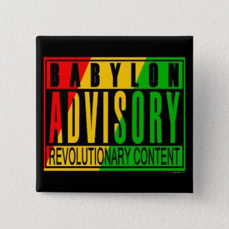 Reggae RASTA Button