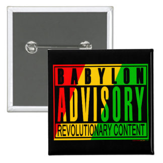 Reggae RASTA Button