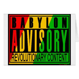 Reggae RASTA Card