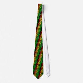 Reggae RASTA Custom Tie
