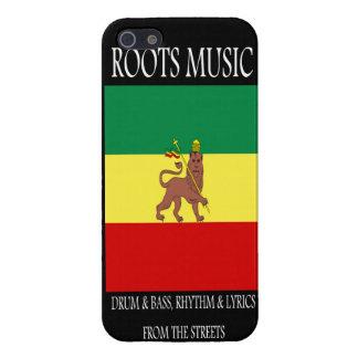 Reggae Rasta de la música de las raíces iPhone 5 Cobertura