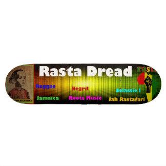 Reggae Rasta Dread Skateboard